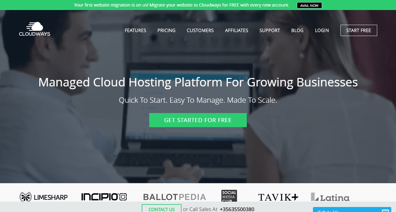 Cloudways: Bloggers' First Hosting Choice