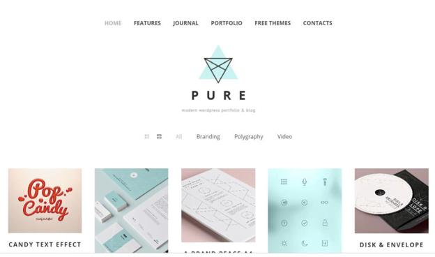 the best free portfolio wordpress theme